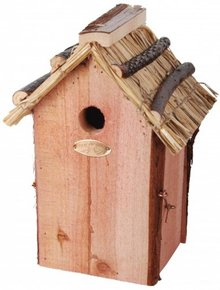 Cheap wicker Birdhouses for blue tits