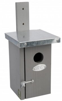 Modern Birdhouses (great for the wren)
