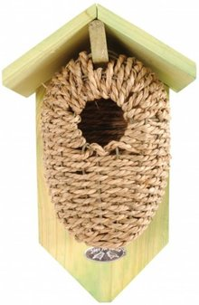 Cheap Nest Pouch Cabinets with seagrass for birds