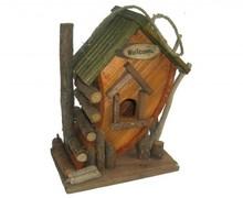 """Goedkope Vogelhuisjes """"Blokhut"""" kopen? Vogelhuisjes """"Blokhut"""" (geschikt voor verschillende vogels)"""