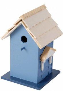 Design bird villa in the blue (100% FSC)