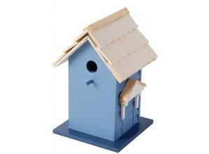 Design vogelvilla in de kleur blauw (FSC 100%)