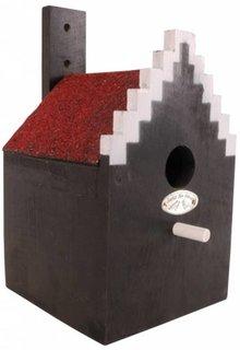 """Facade Nestboxes """"Step gable"""" typical Dutch Amsterdam Birdhouses"""