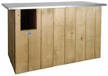 Kerkuil nestkast! Een nestkast speciaal gemaakt voor kerk uilen (afmeting 85,5 x 37,3 x 44,3 cm)