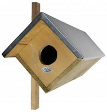 Steenuilkast! Een nestkast speciaal gemaakt voor de Steenuil (afmeting 80,5 x 31 x 52 cm)