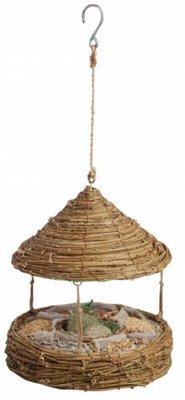 Bird Feeder Basket with roof