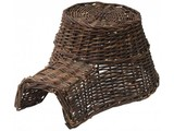 Ежик гнездо! Специальный темно-коричневый плетеная корзина Ежик ежей (размер 18 х 10 х 23 см)