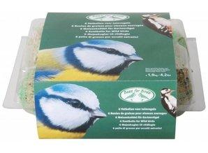 Speciale vetbollen voor tuinvogels (per 6 stuks verpakt)