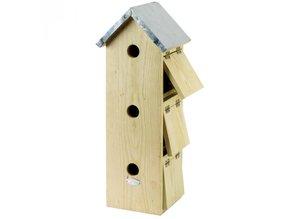 Speciale Vogelhuisjes geschikt voor 3 vogelfamilies kopen?