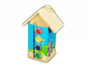 Goedkope Vogelhuisjes om zelf te schilderen kopen?