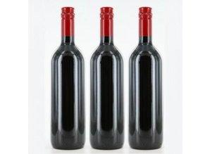 Rode kwaliteitswijn voorzien van een eigen wijnetiket!
