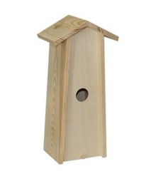 Blank wooden Birdhouse suitable for 1 bottle of wine