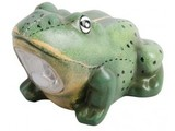 Frog with lighting (with motion sensor, incl. 2 AA alkaline batteries)