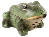 With decorative frog croaking sound (with a motion detector, including 2 AA batteries)