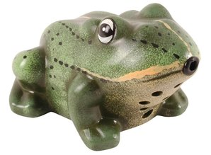 With decorative frog croaking sound and motion!