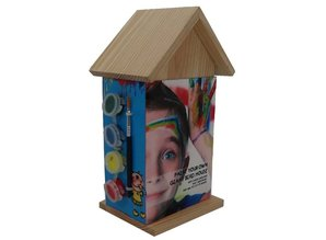 Cheap Birdhouses to paint buy yourself?