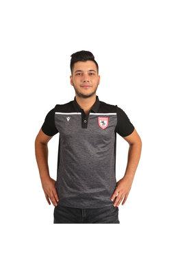 Samsunspor Jumeirah Siyah Polo Yaka Kamp T-Shirt