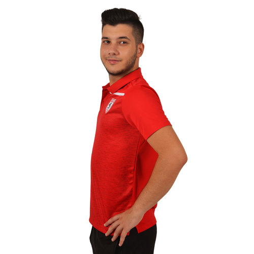 Samsunspor Jumeirah Kırmızı Polo Yaka Kamp T-shirt