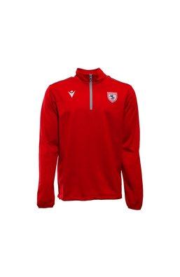 Samsunspor Havel Kırmızı Antrenman Yarım Fermuar Sweatshirt