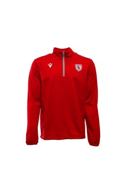 Samsunspor Havel Red Half Zip Training Sweater