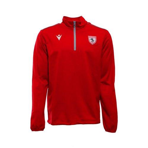 Samsunspor Havel Red Half Zip Training Sweater