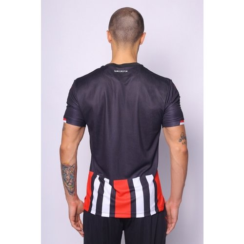 20/21 Samsunspor Black Striped Shirt
