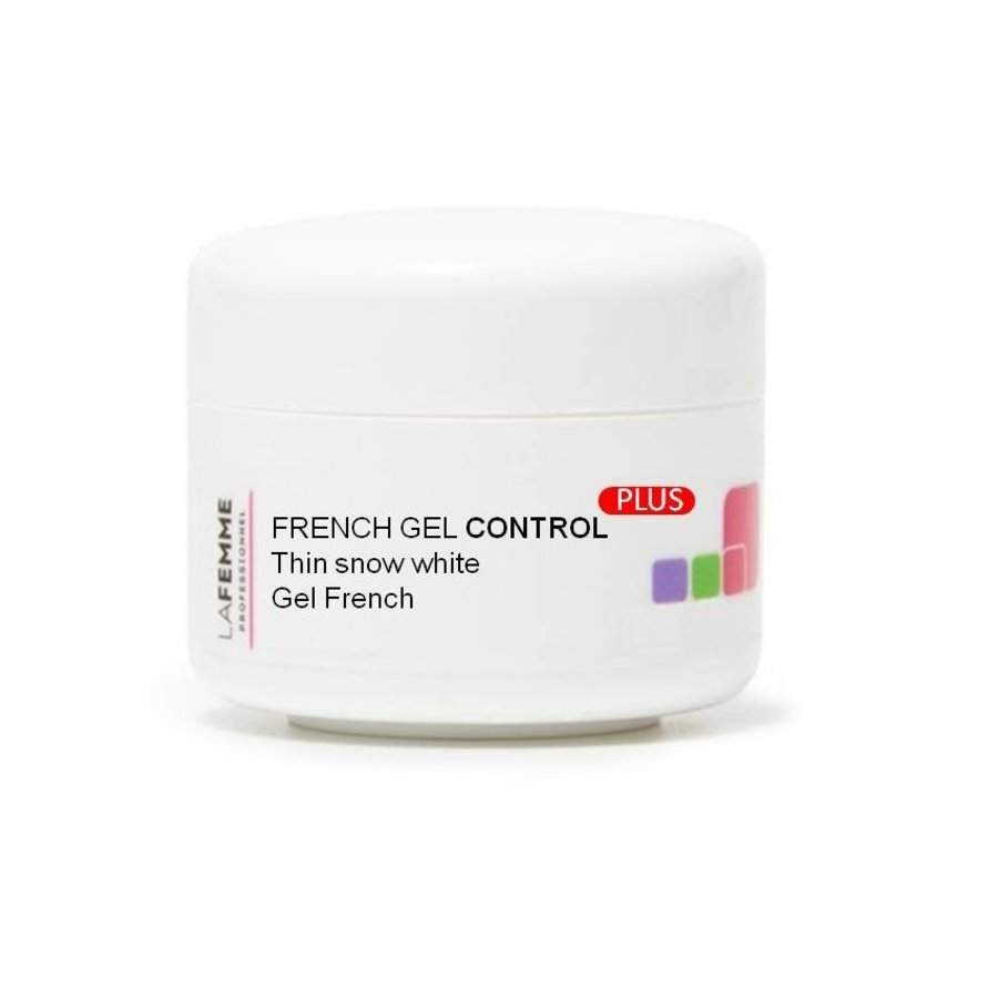 Nail Styling | Gel Nails | French Gel White control Plus|voor een uniforme witte uitstraling | 15 gr.-1