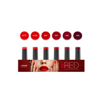 thumb-Gel Polish   Red Desire collection   6 x 8 gr.  per set-1