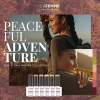 thumb-Gel Polish Collection |Peacefull Adventure collection |6 x 8 gr.|per set-2