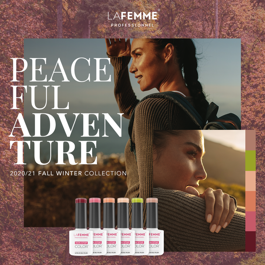 Gel Polish Collection |Peacefull Adventure collection |6 x 8 gr.|per set-2