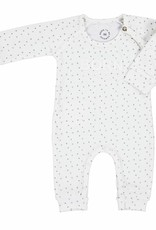 Born to be famous NB Baby One Piece Style - White