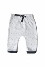 Born to be famous NB Baby Pants - Navy