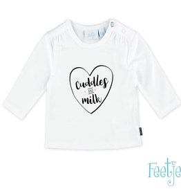 Feetje T-shirt l/m Cuddles Milk
