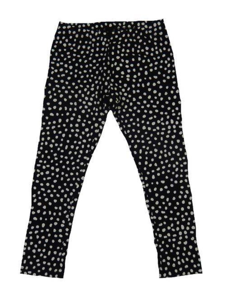 Lofff Legging FL SJL Black-off white
