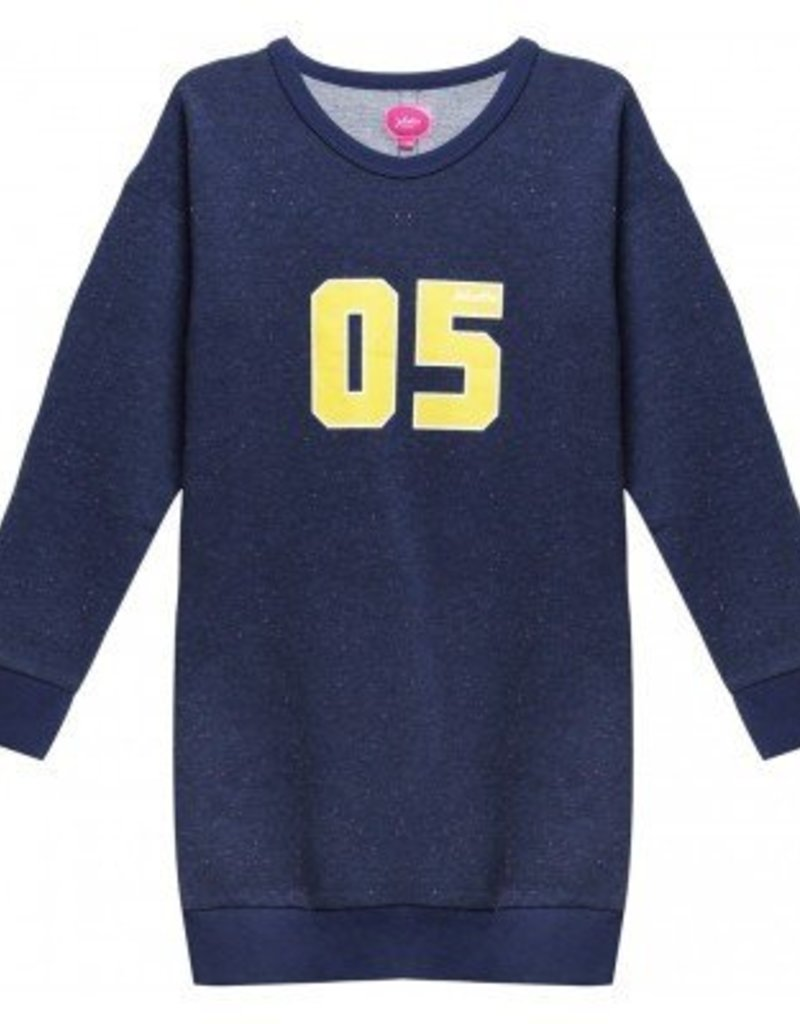 Little miss juliette Jurk Sweat Flower