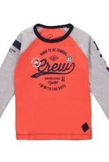 Born to be famous Shirt Orange Body