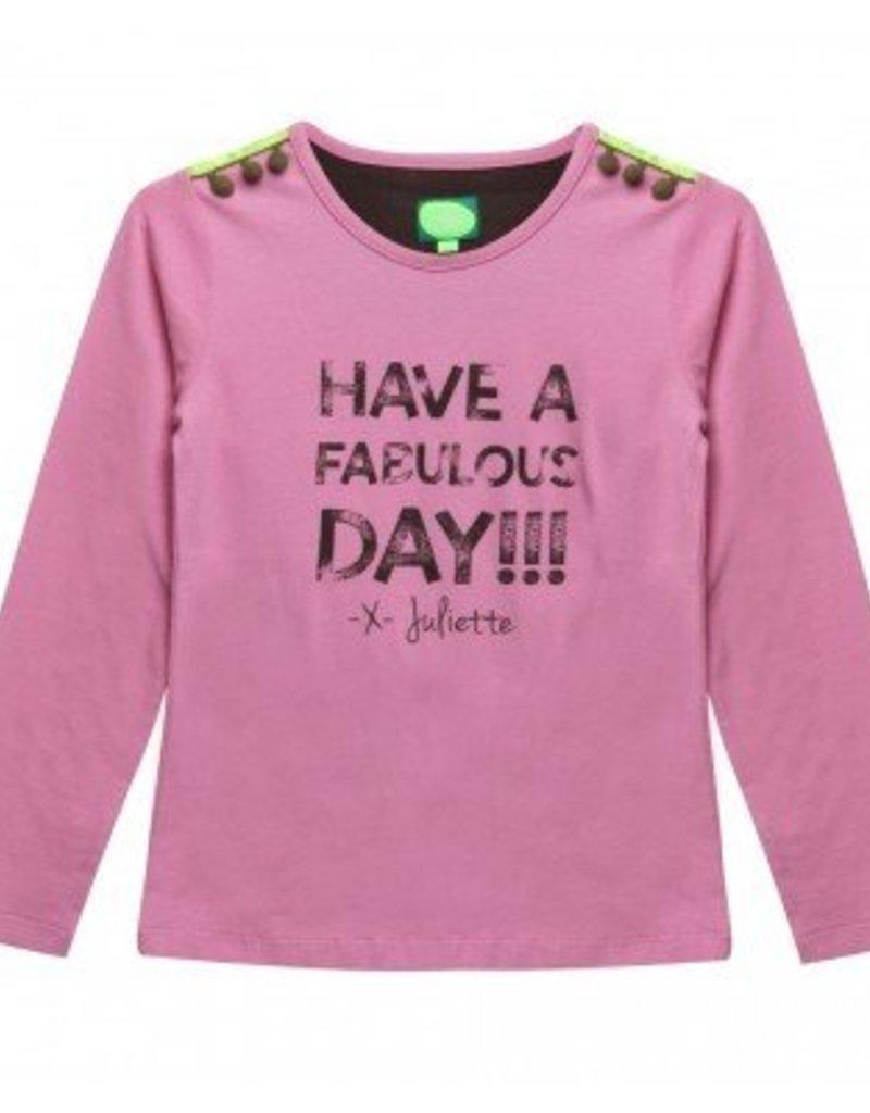 Little miss juliette T-Shirt l/m Fabulous Day
