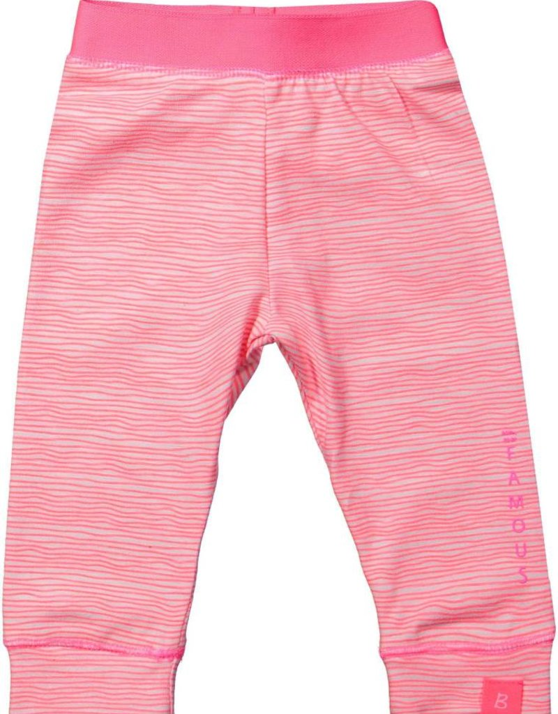 Born to be famous Legging Neon Pink