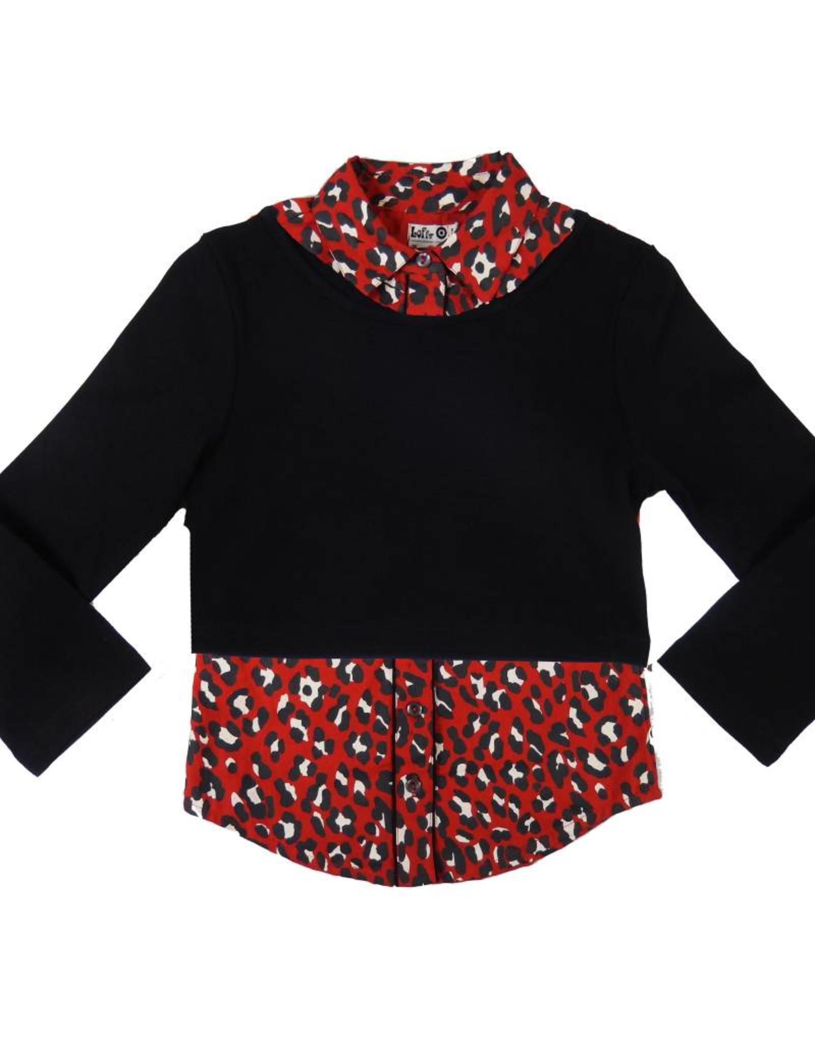 Lofff Combination top - Black