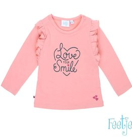 Feetje Longsleeve Love Your Smile With Love