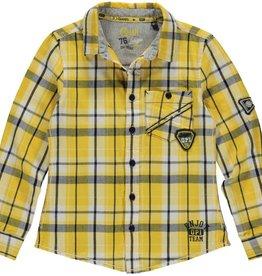 Quapi Blouse Lander Yellow Check