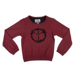 Lava Lava Sweater Peace - Sangria