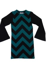 Lava Lava Dress Havanna - Petrol Black