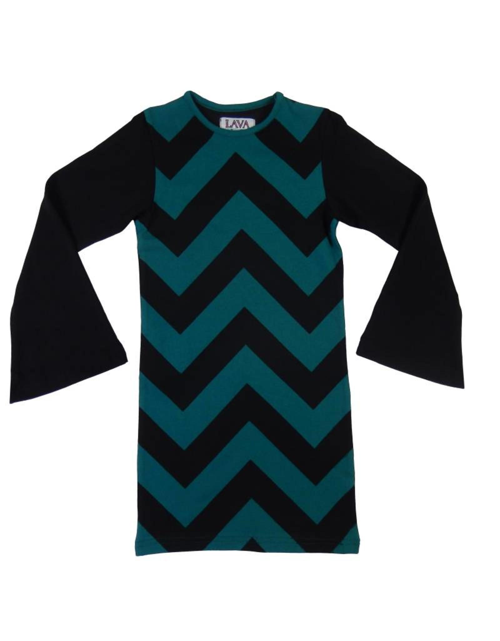 Lava Lava Dress Havanna - Petrol Black