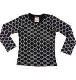 Lofff Shirt Honeycomb Black - Withe
