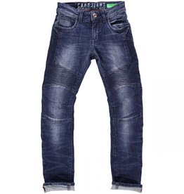 Cars Jeans Kids Broek EASY Denim Dark Used