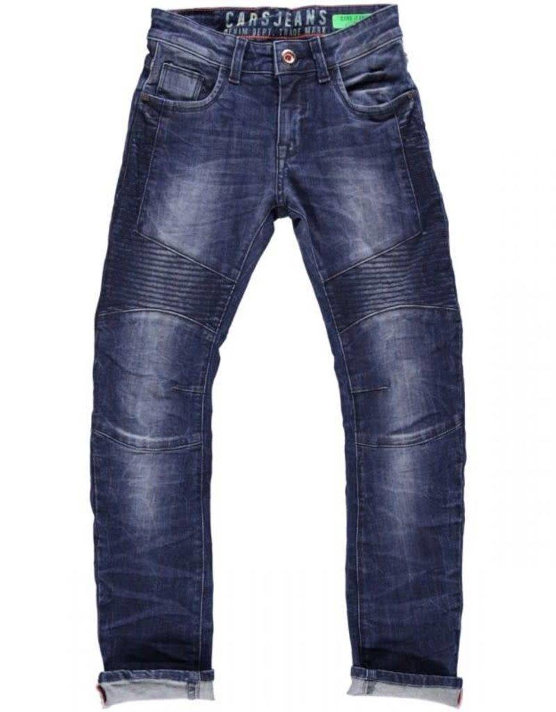 Cars Jeans Kids Broek EASY Denim Dark Used