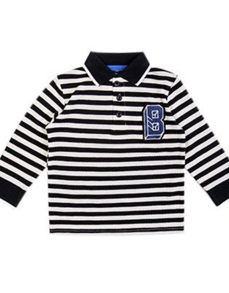 Beebielove Long-sleeve polo - STR