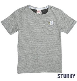 Sturdy T-shirt k/m streep Expedition