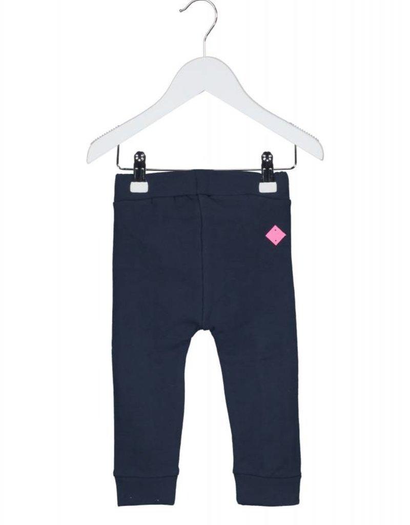 B. Nosy baby girls sweat pants with ruffle - Peacock